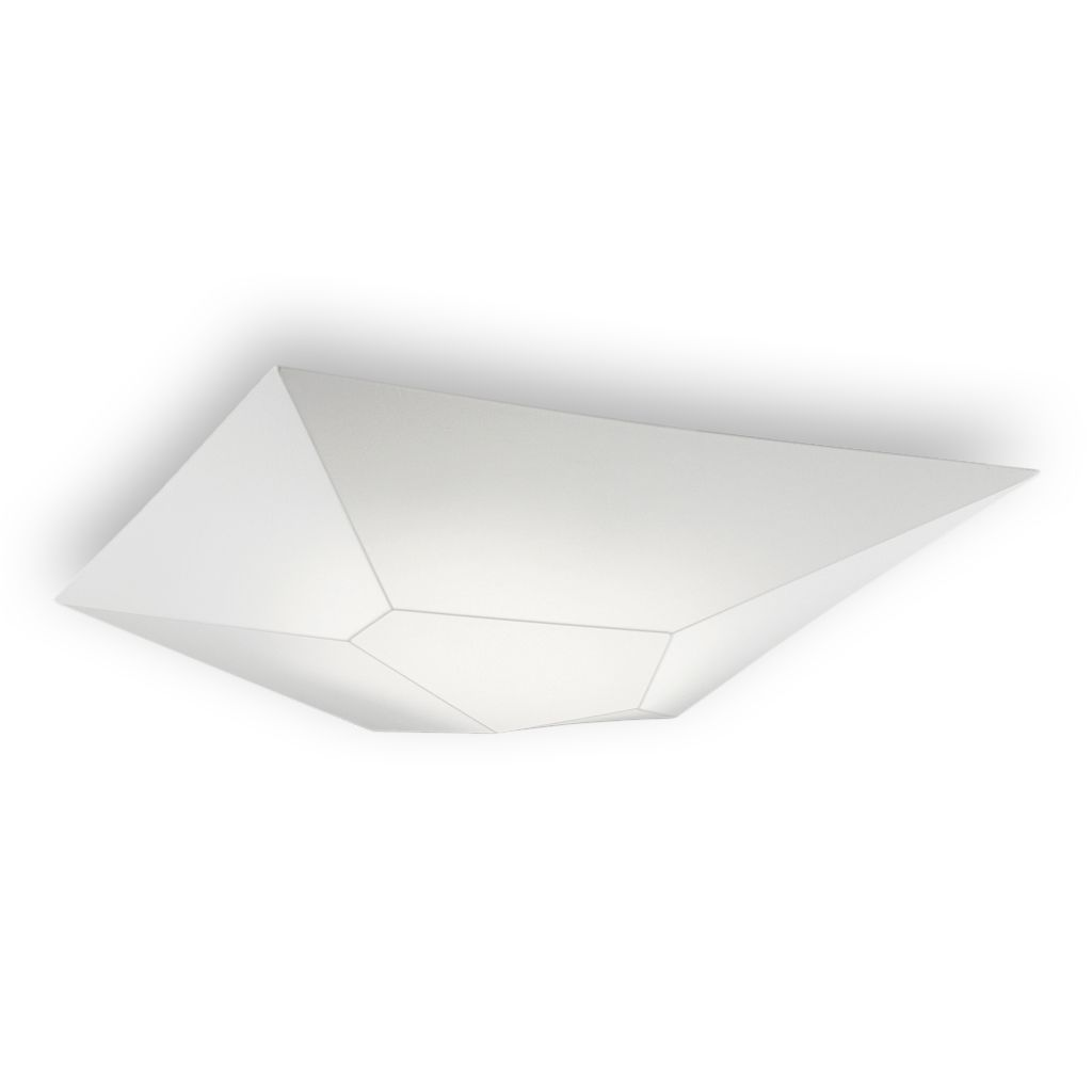 Plaf n techo aplique pared hexagonal e27 led halley for Plafones para pared
