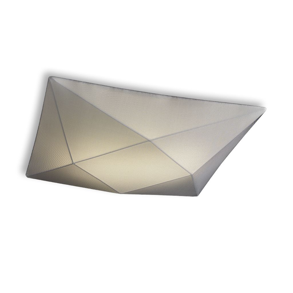 Plaf n de techo polaris titanio e27 led 20007 100ng de fm - Plafones de techo led ...