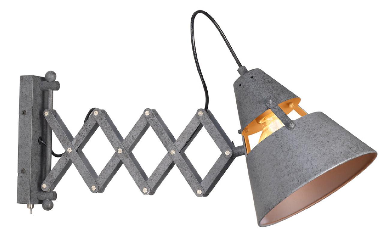 Aplique de pared con flexo extensible industrial 5444 - Apliques de pared originales ...