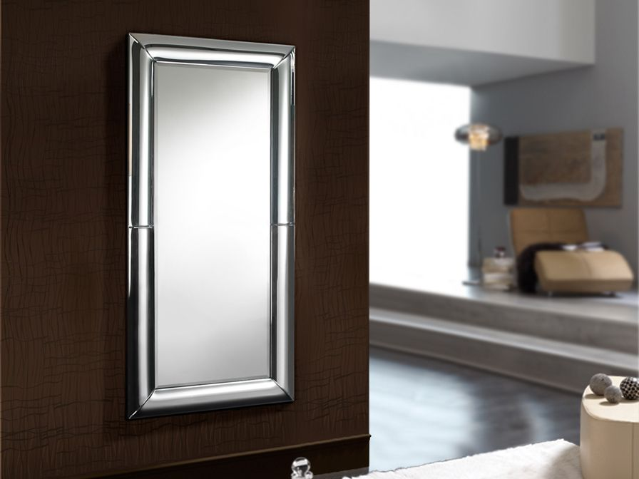 Espejo moderno curves rectangular 160 x 70 651431 for Espejo rectangular con marco