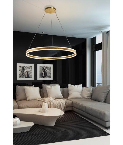 Lámpara techo de Ø1m de Schuller oro Helia pan 831622 de ZiOPukTX
