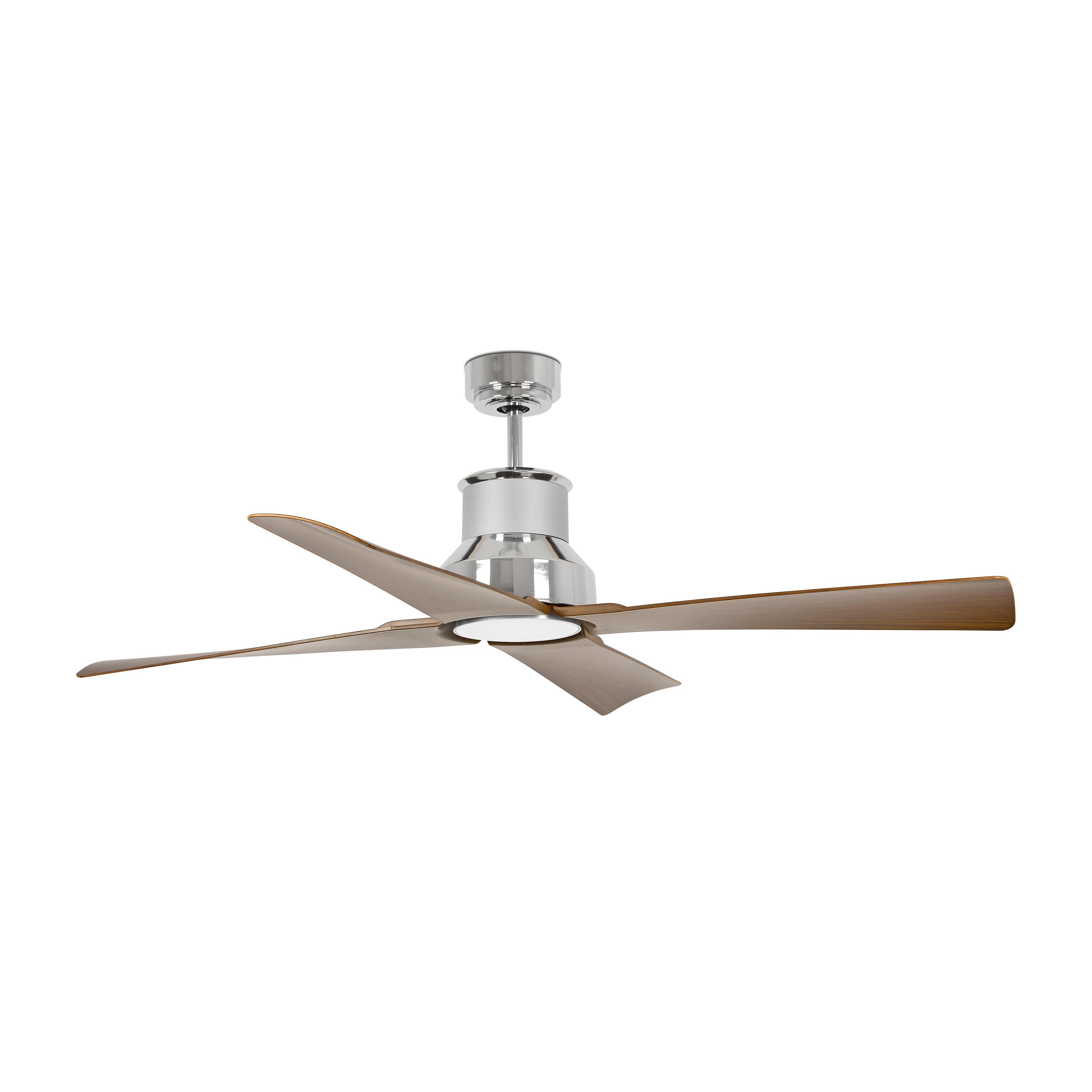 Ventilador de techo winche motor dc 33482 cromado 1270 de faro 33482 355 50 - Motores de ventiladores de techo ...