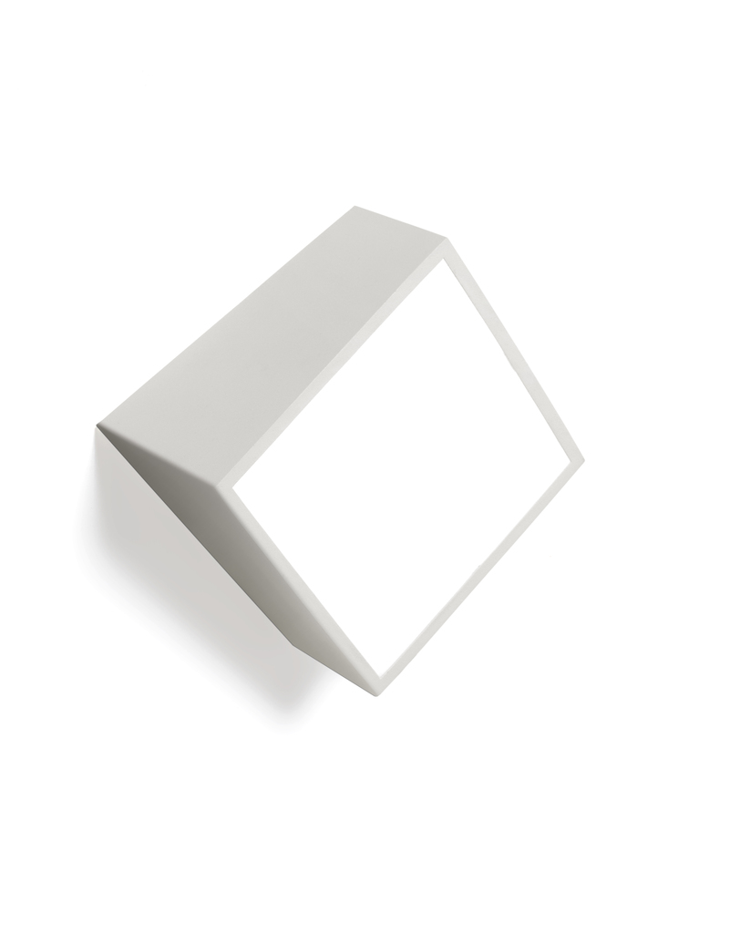 Aplique de pared Exterior IP44 cuadrado 16x16 G9 Mini blanco 5481 de Mantra